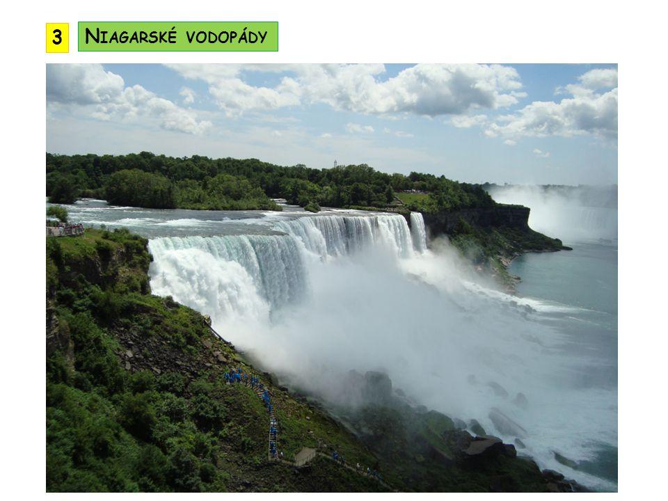 3 Niagarské vodopády