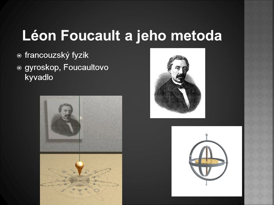 Léon Foucault a jeho metoda