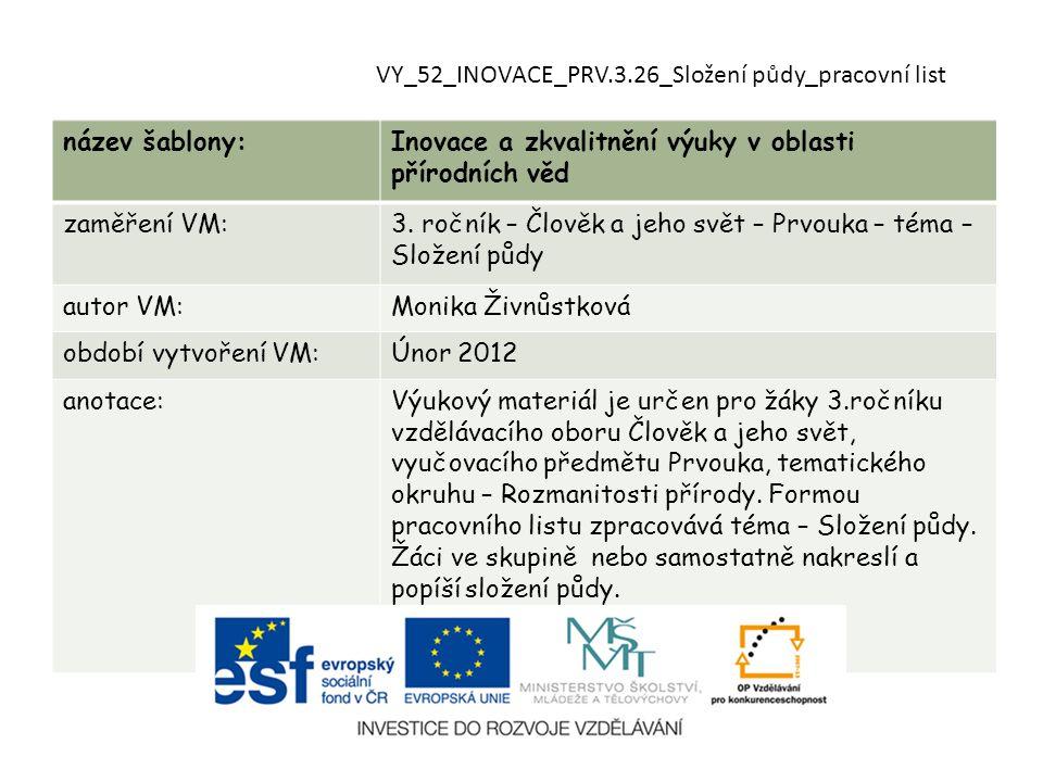 VY_52_INOVACE_PRV.3.26_Složení půdy_pracovní list