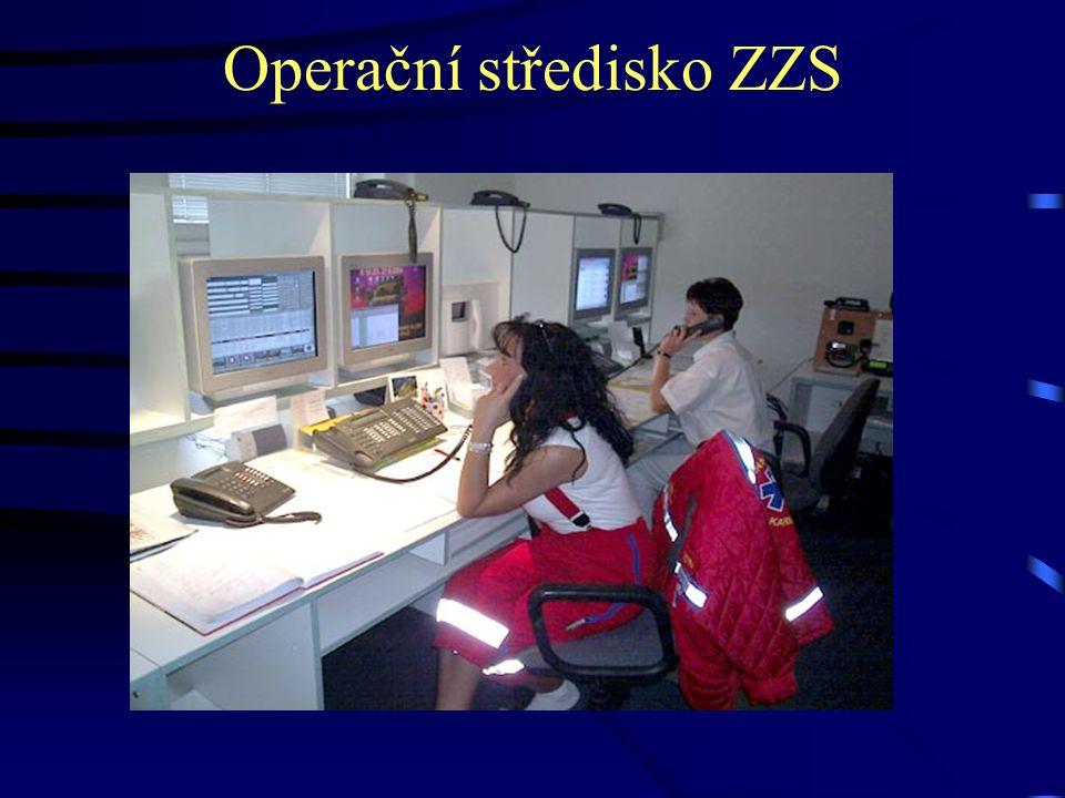 Operační středisko ZZS