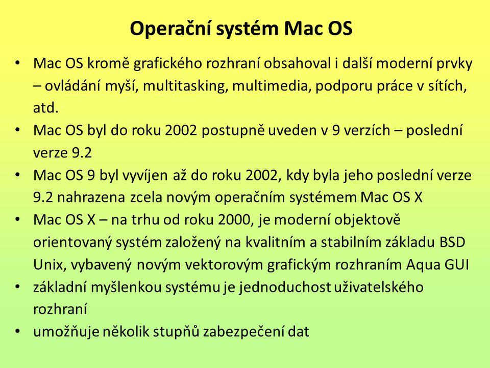 Operační systém Mac OS