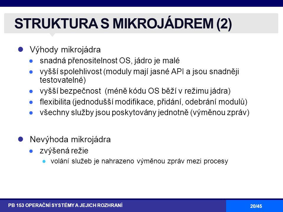 STRUKTURA S MIKROJÁDREM (2)