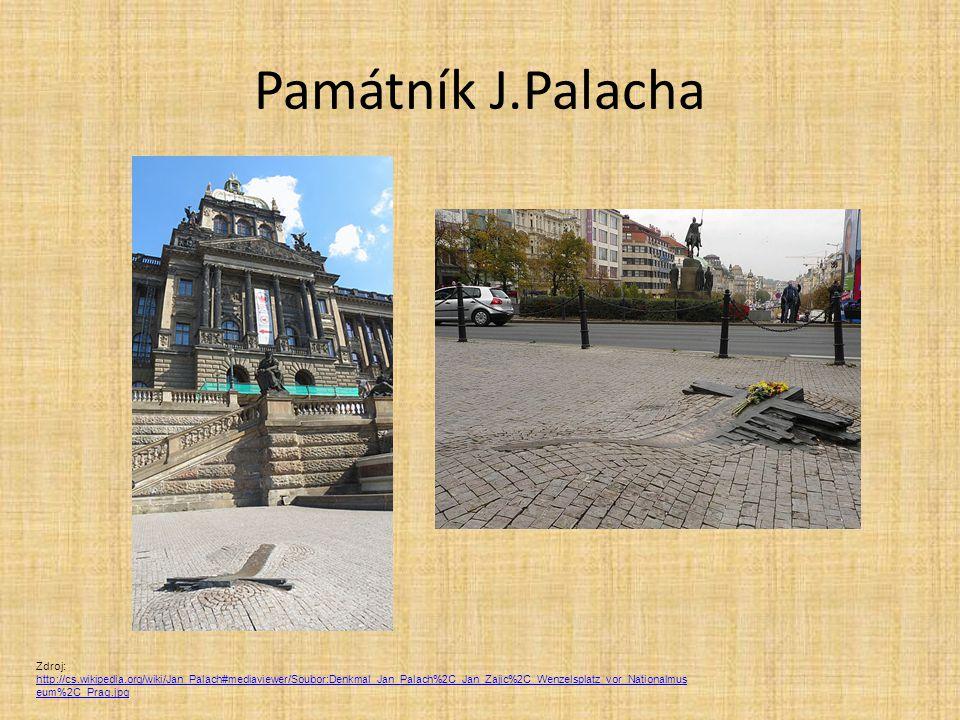 Památník J.Palacha