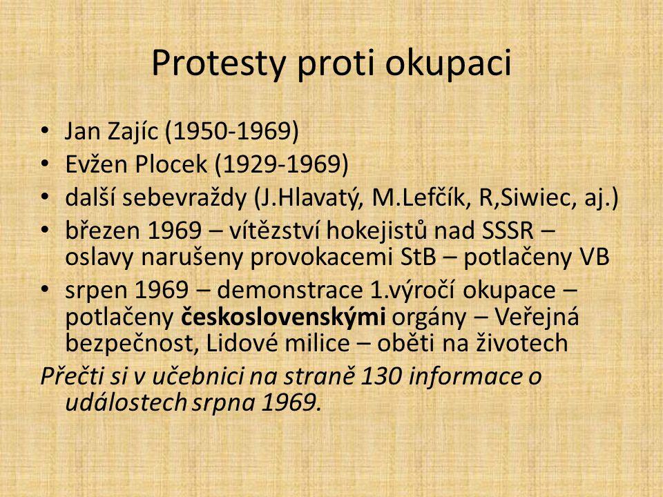 Protesty proti okupaci