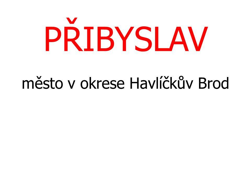 město v okrese Havlíčkův Brod