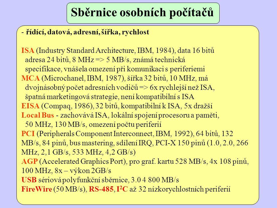 Sběrnice osobních počítačů