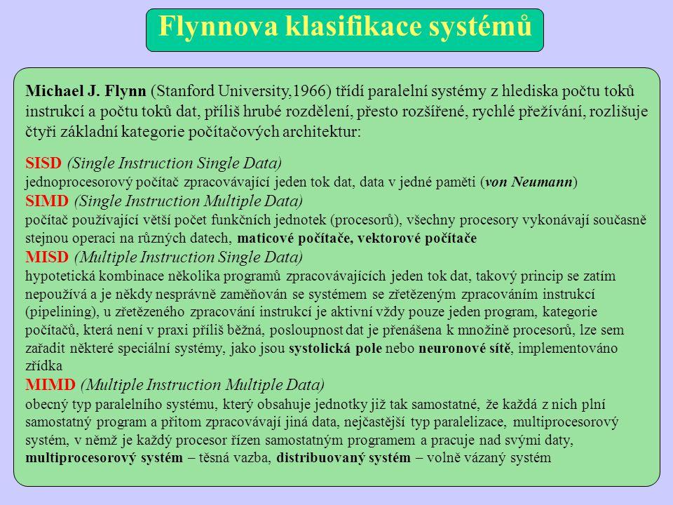 Flynnova klasifikace systémů