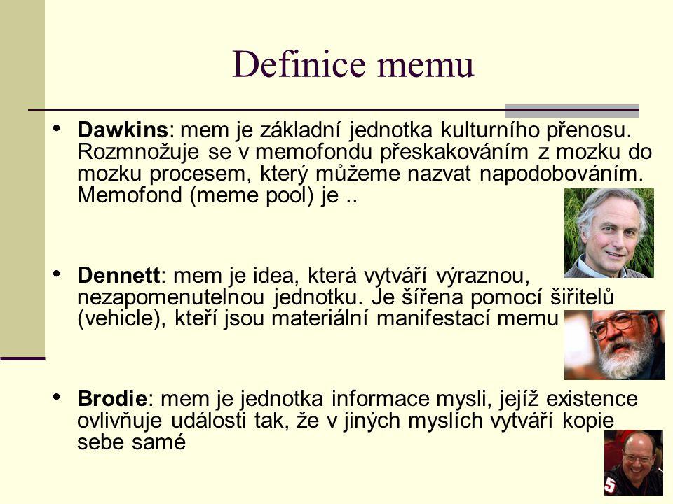 Definice memu