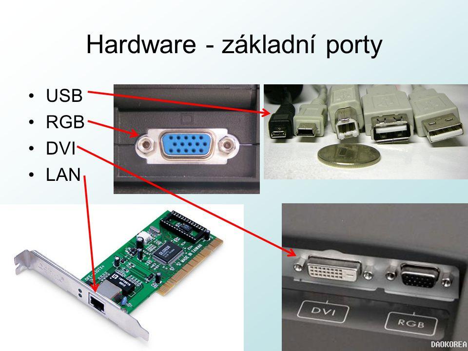 Hardware - základní porty
