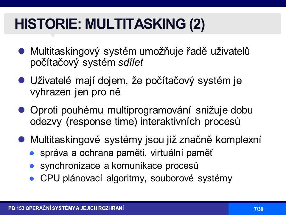 HISTORIE: MULTITASKING (2)
