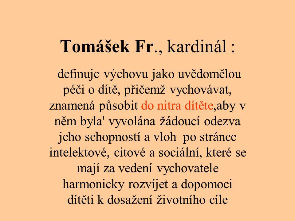 Tomášek Fr., kardinál :