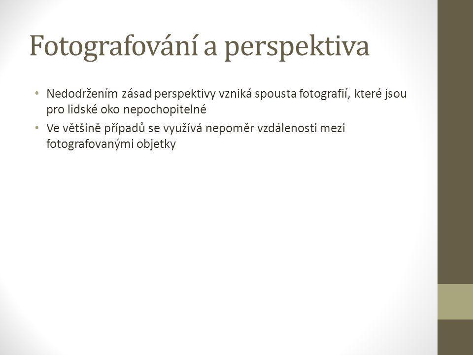 Fotografování a perspektiva