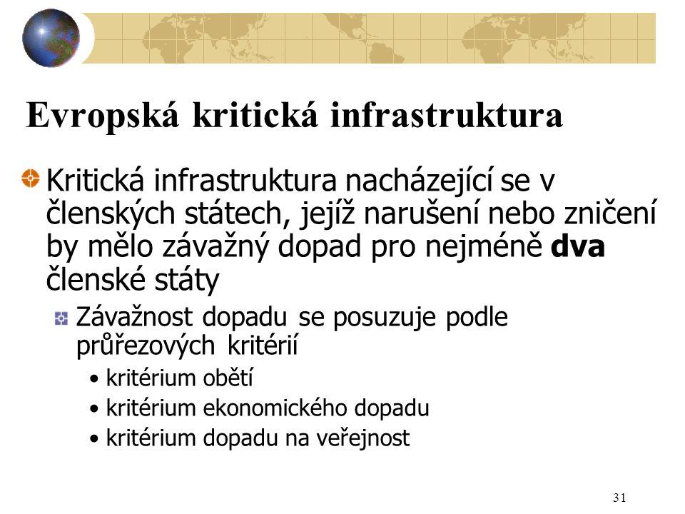 Evropská kritická infrastruktura