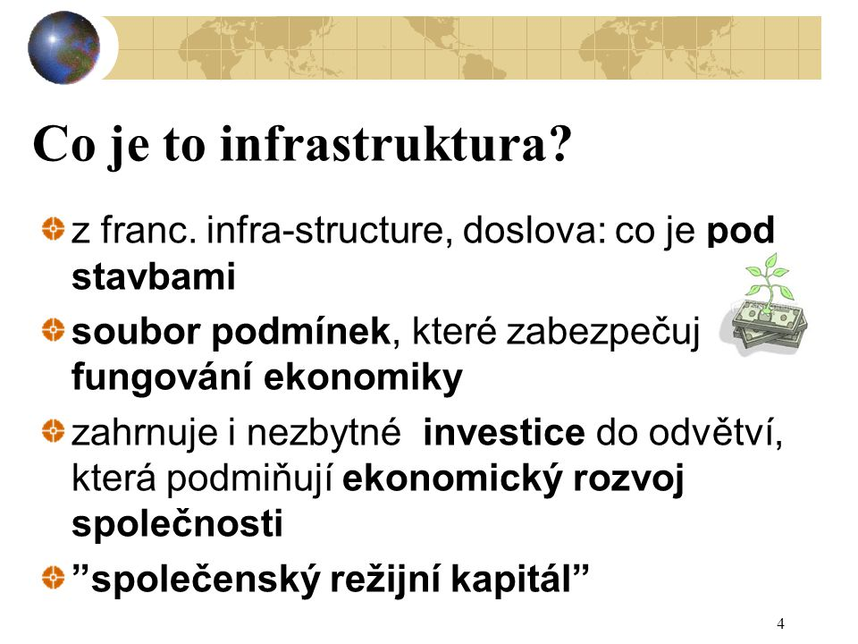 Co je to infrastruktura