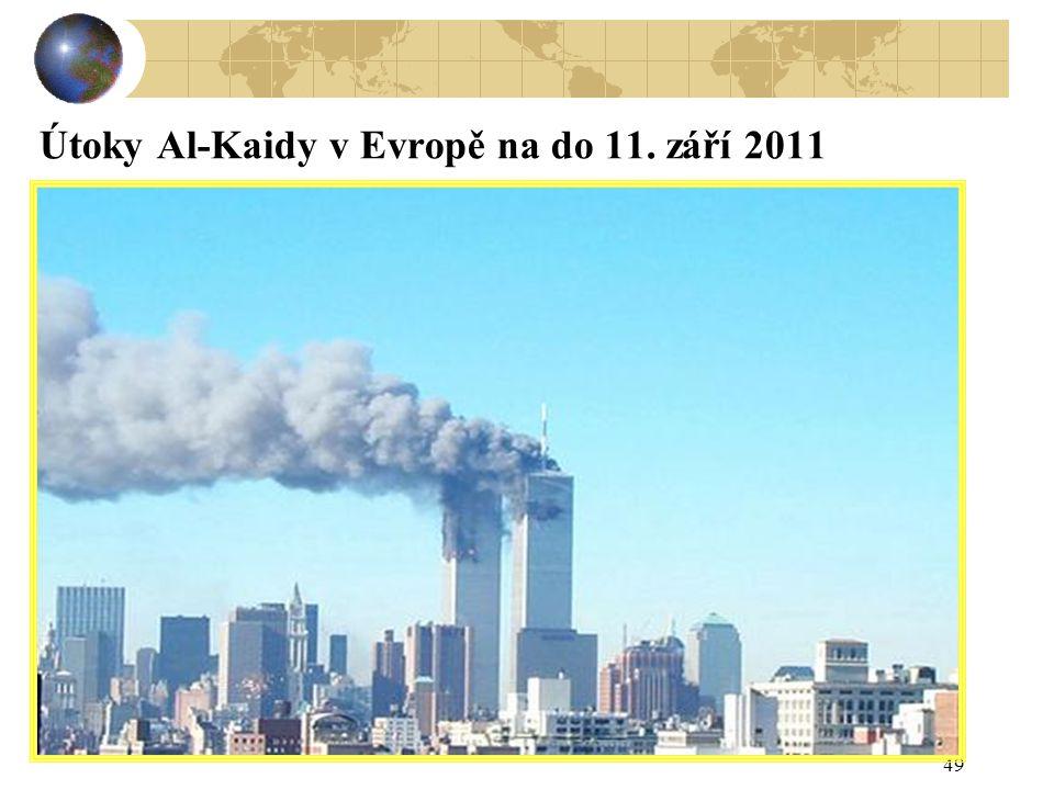 Útoky Al-Kaidy v Evropě na do 11. září 2011