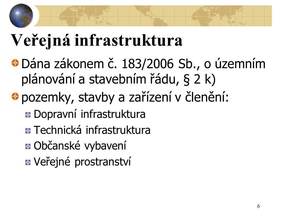 Veřejná infrastruktura