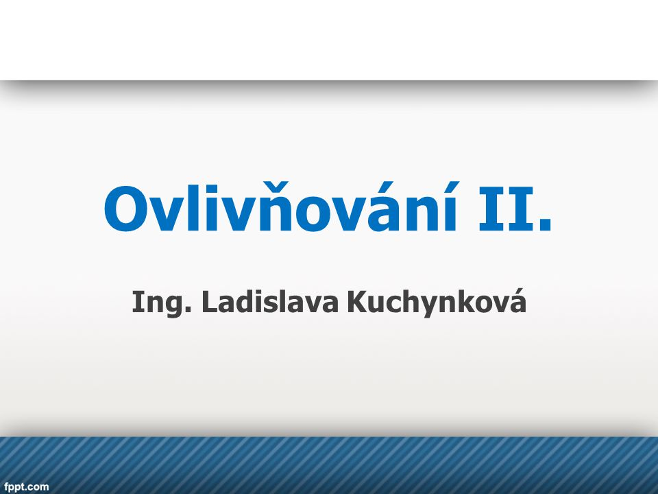Ing. Ladislava Kuchynková