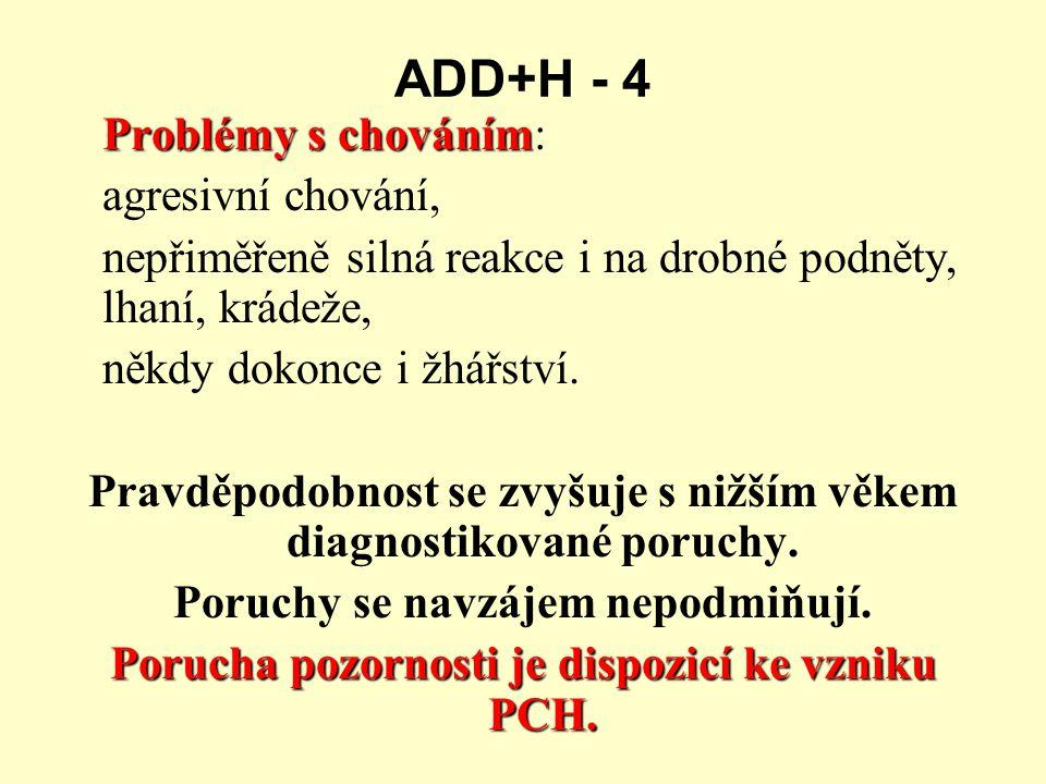 ADD+H - 4 agresivní chování,
