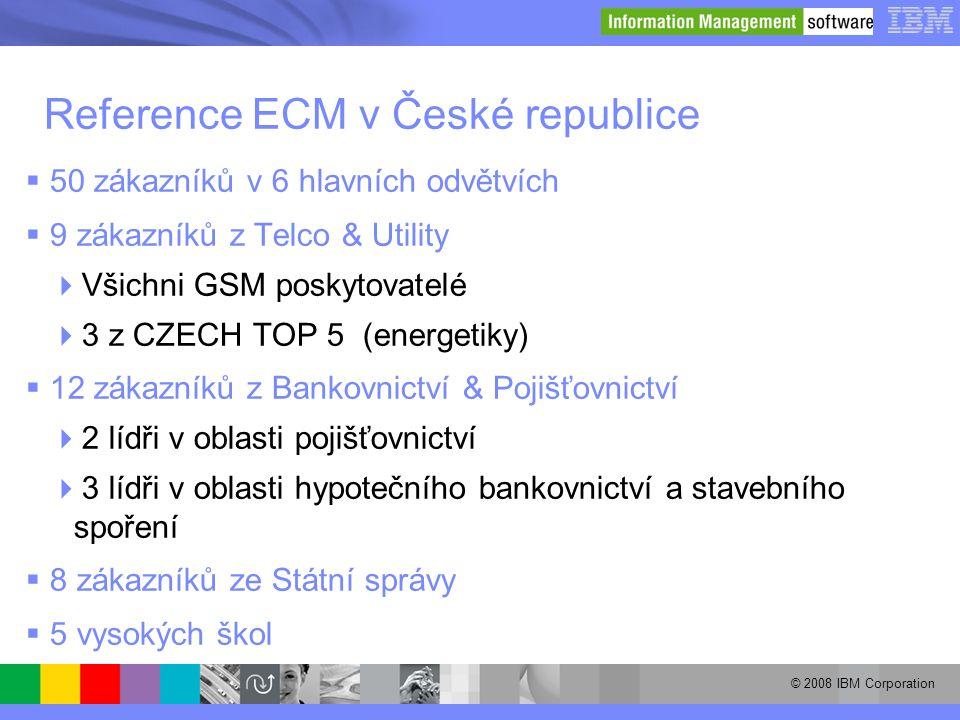 Reference ECM v České republice