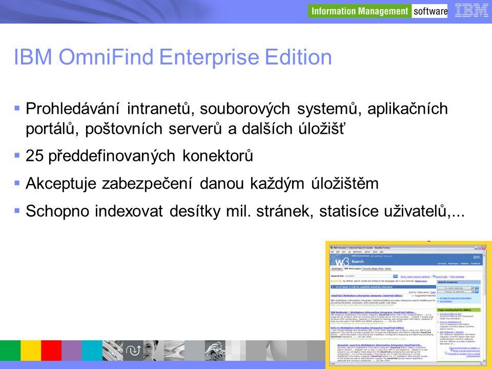 IBM OmniFind Enterprise Edition