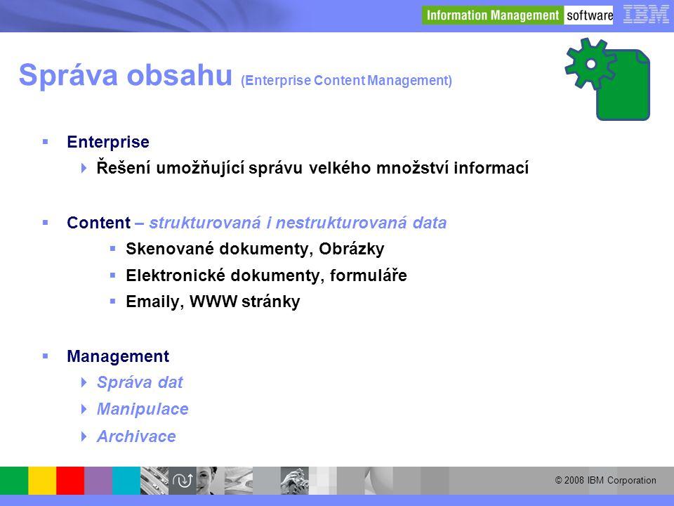 Správa obsahu (Enterprise Content Management)