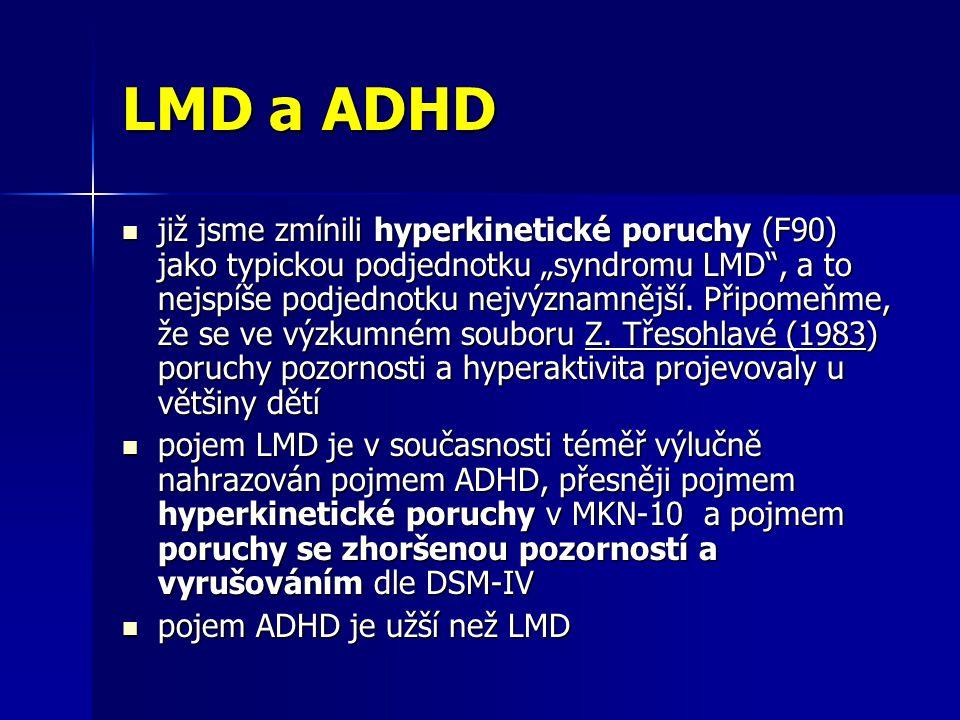 LMD a ADHD