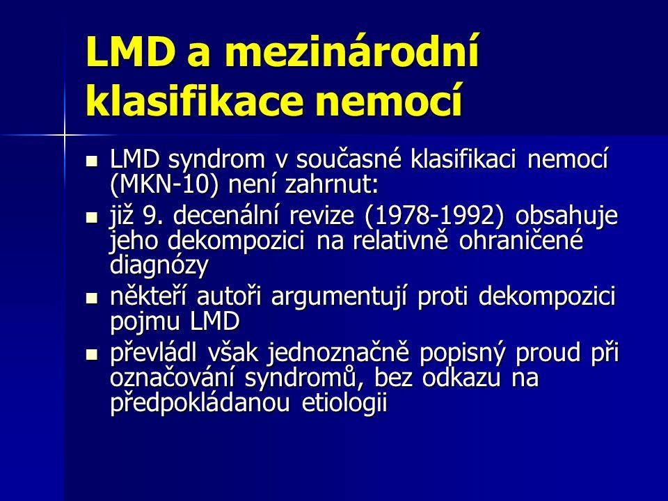 LMD a mezinárodní klasifikace nemocí
