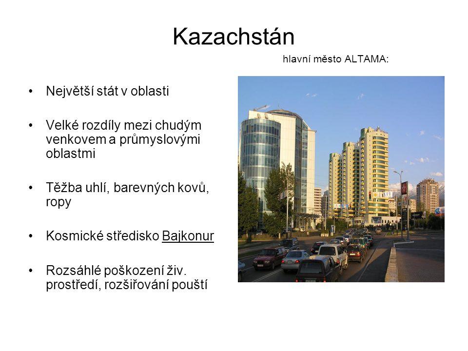 Kazachstán hlavní město ALTAMA: