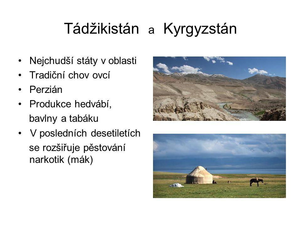 Tádžikistán a Kyrgyzstán