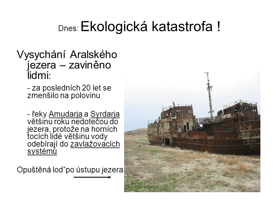 Dnes: Ekologická katastrofa !