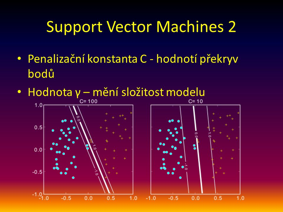 Support Vector Machines 2