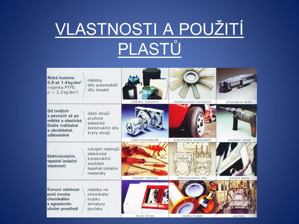 Vlastnosti a použití plastů