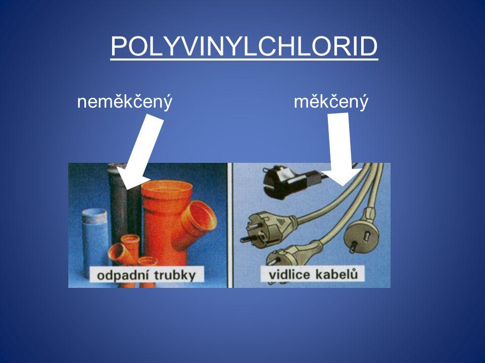 Polyvinylchlorid neměkčený měkčený