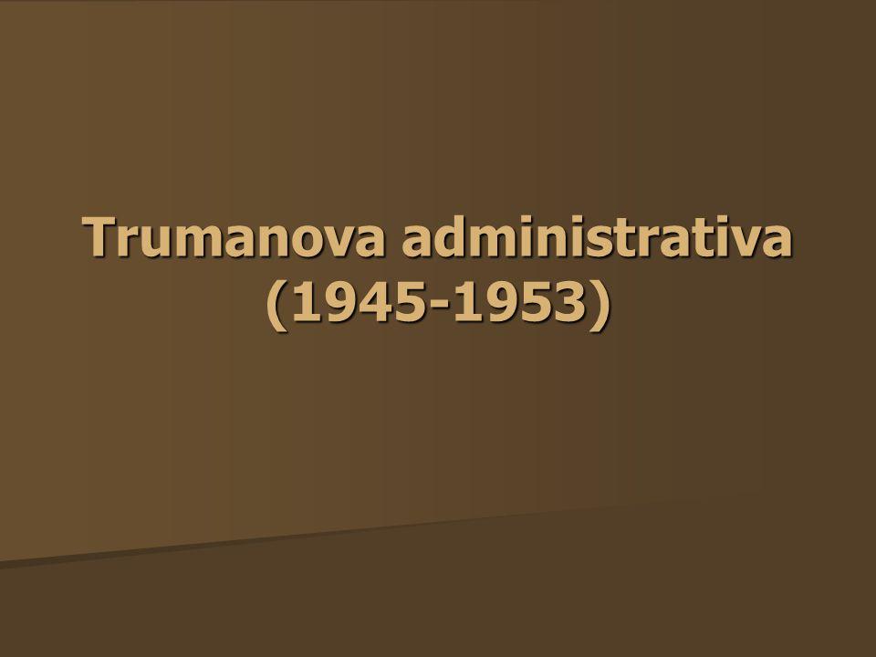 Trumanova administrativa (1945-1953)