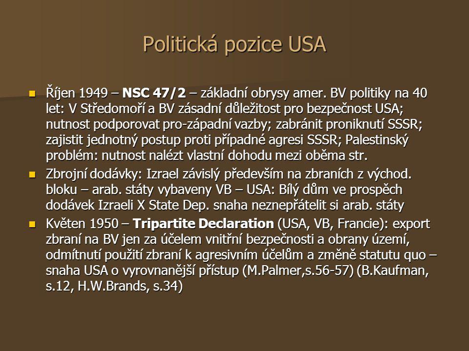Politická pozice USA
