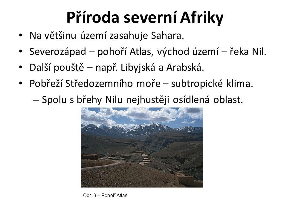 Příroda severní Afriky