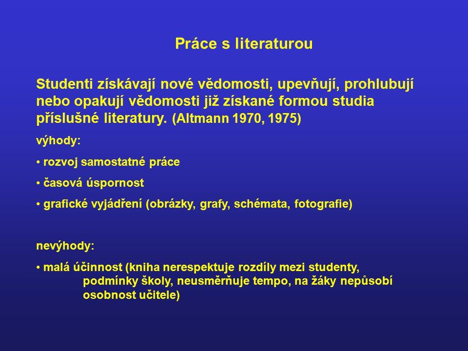 Práce s literaturou