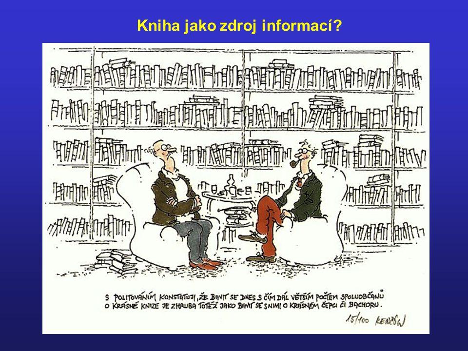Kniha jako zdroj informací