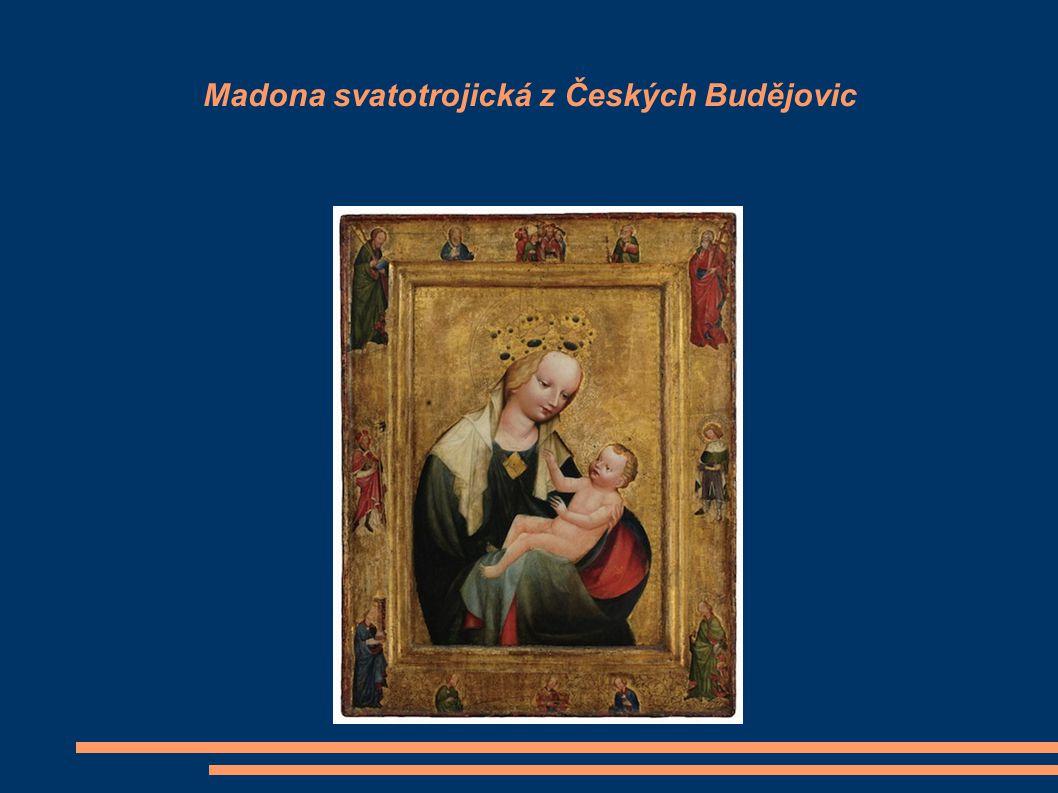 Madona svatotrojická z Českých Budějovic