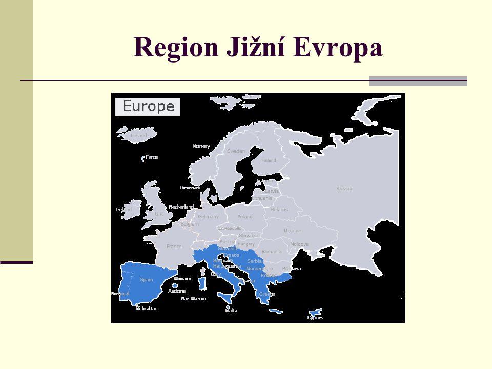 Region Jižní Evropa