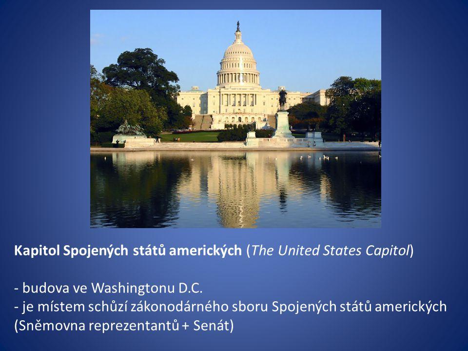 Kapitol Spojených států amerických (The United States Capitol)
