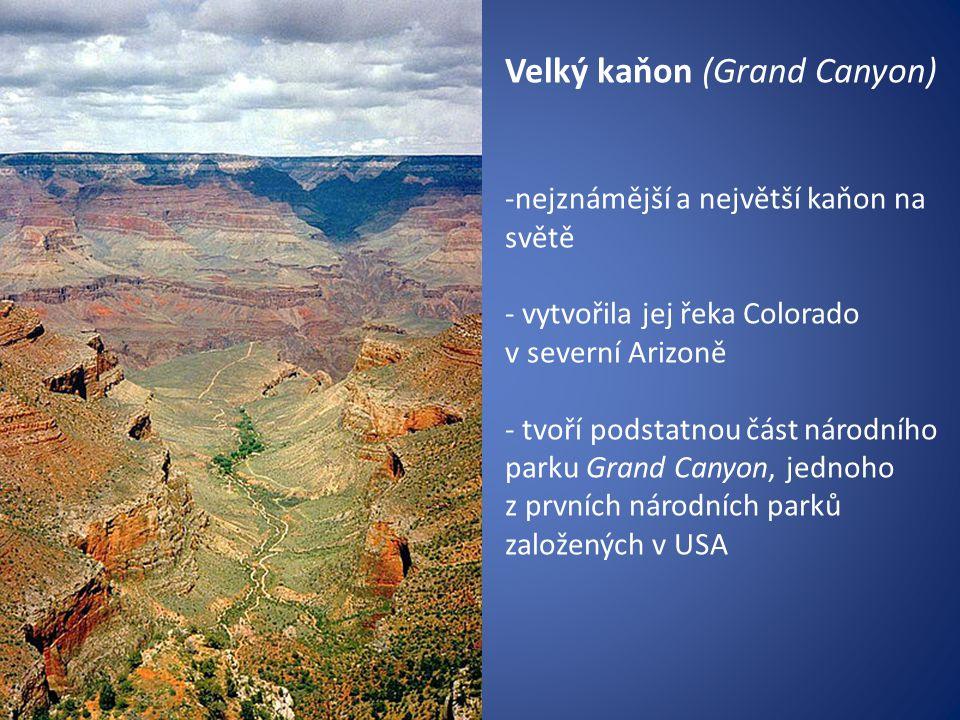 Velký kaňon (Grand Canyon)