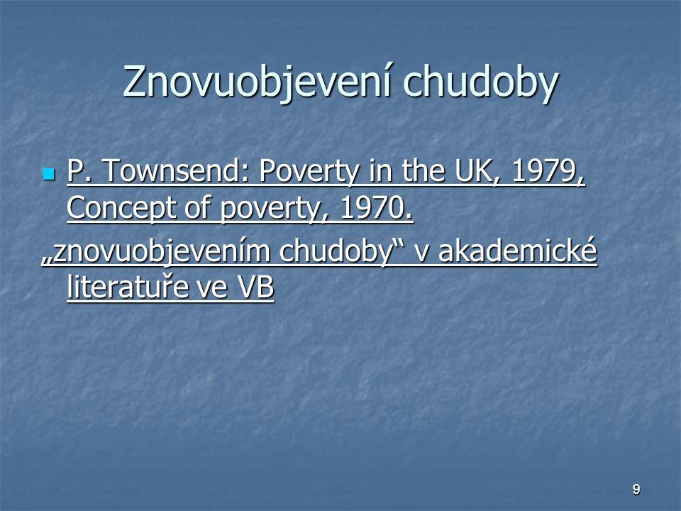 Znovuobjevení chudoby