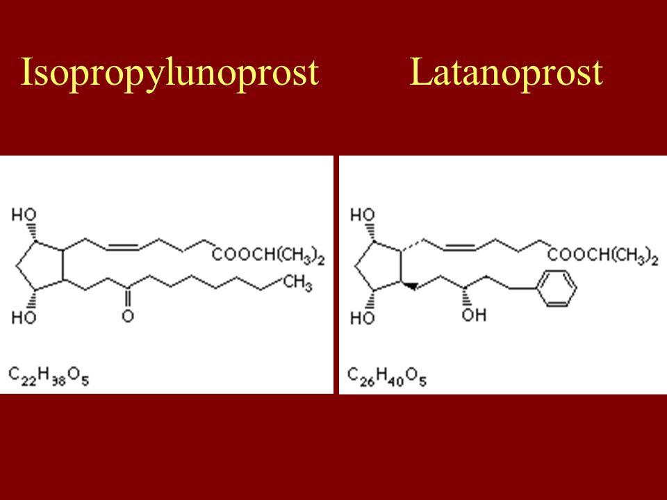Isopropylunoprost Latanoprost