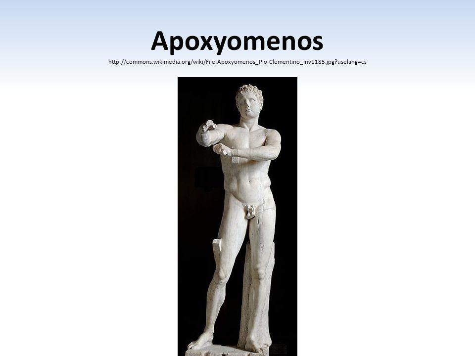 Apoxyomenos http://commons. wikimedia