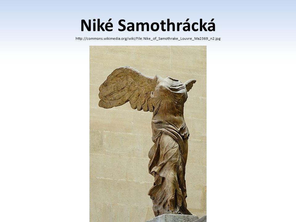 Niké Samothrácká http://commons. wikimedia