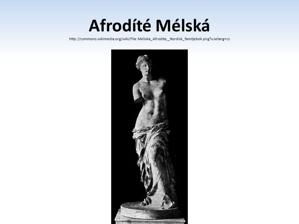 Afrodíté Mélská http://commons. wikimedia