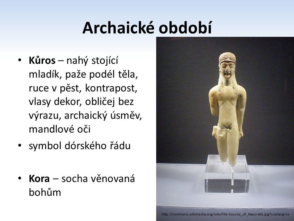 Archaické období