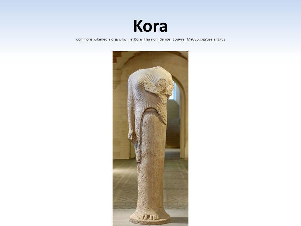 Kora commons. wikimedia. org/wiki/File:Kore_Heraion_Samos_Louvre_Ma686