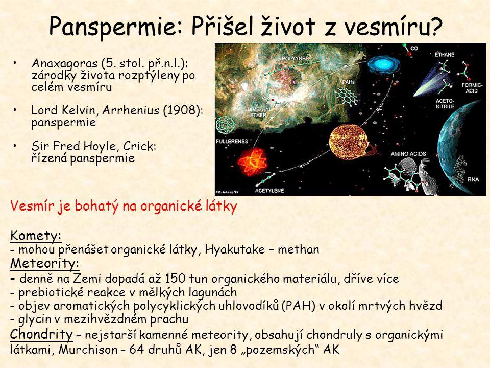 Panspermie: Přišel život z vesmíru